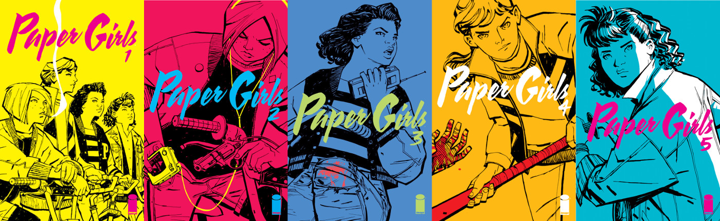 Paper Girls Covers