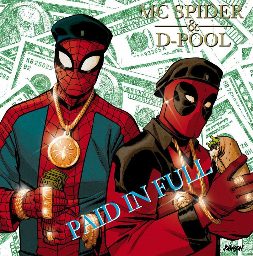 Spider-Man Deadpool #1 Hip-Hop Variant Dave Johnson