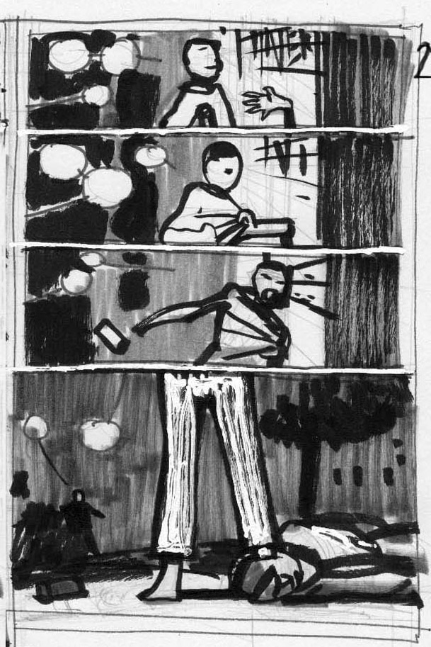The Vision #3 Page 3 Layouts