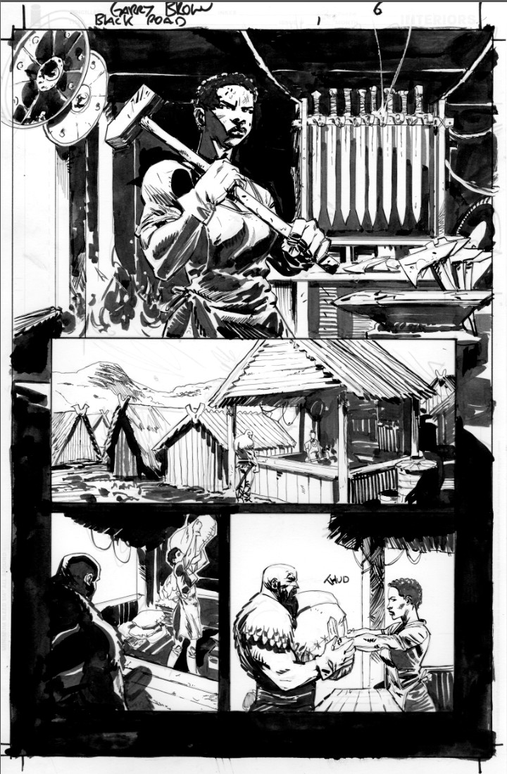 Black Road #1 Page 6