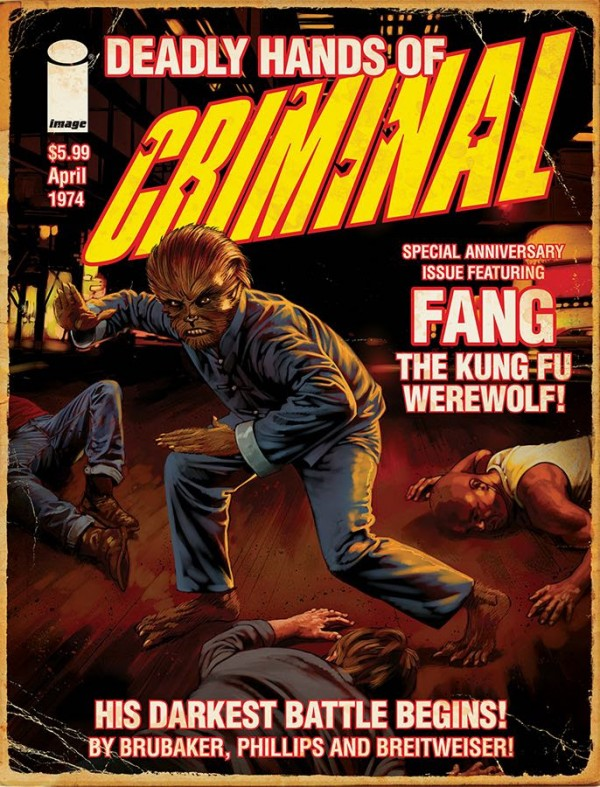 Criminal 10th Anniversary Magazine Variant