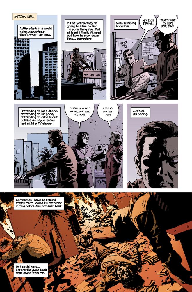 Incognito #1 Page
