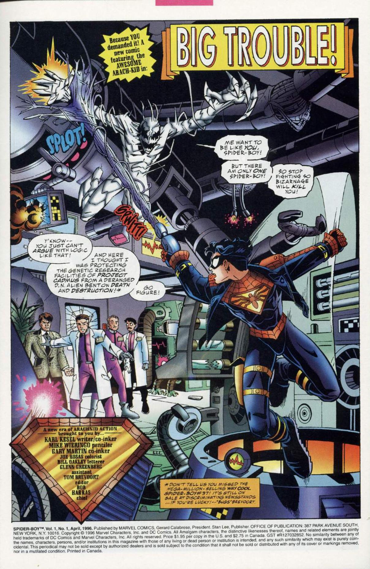 Spider-Boy #1 Page 1
