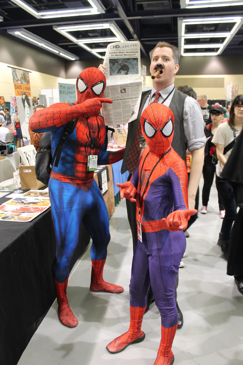Me and Spider-Men