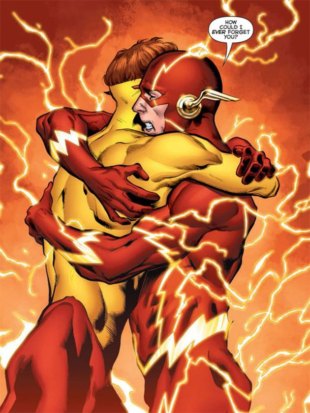 Barry Wally Reunited in Rebirth