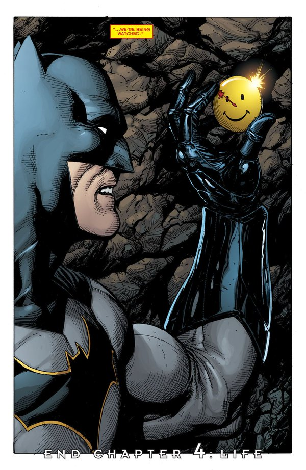 Batman Meets Watchmen in Rebirth