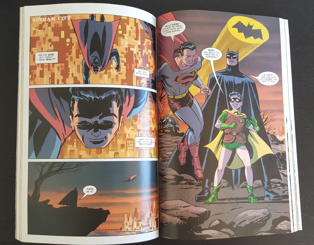 DC The New Frontier Batman and Robin and Superman
