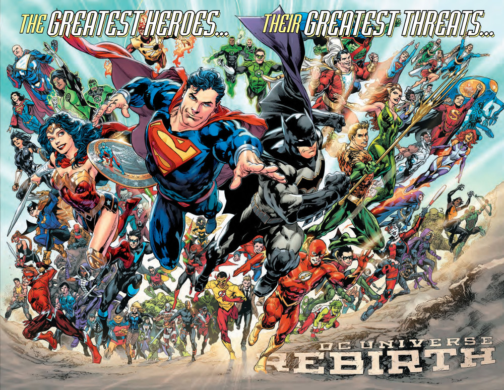 DC Universe Rebirth Splash