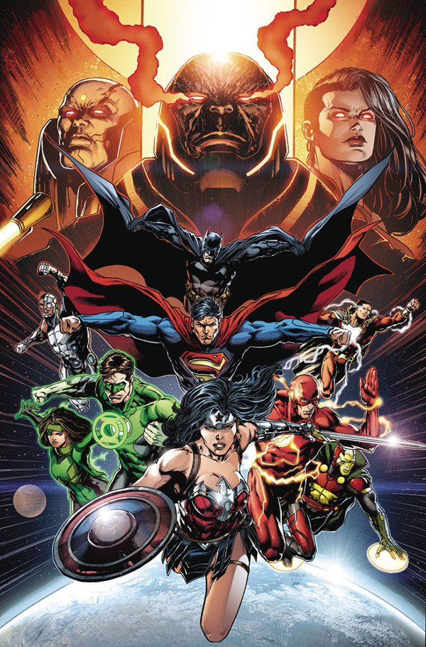 Cover to Justice League #50 Jason Fabok