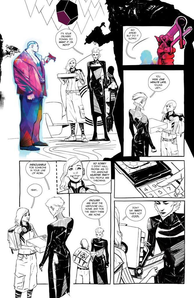 "All of Decorum is a Group Effort"": Mike Huddleston on the Style and Art of  Decorum - SKTCHD"